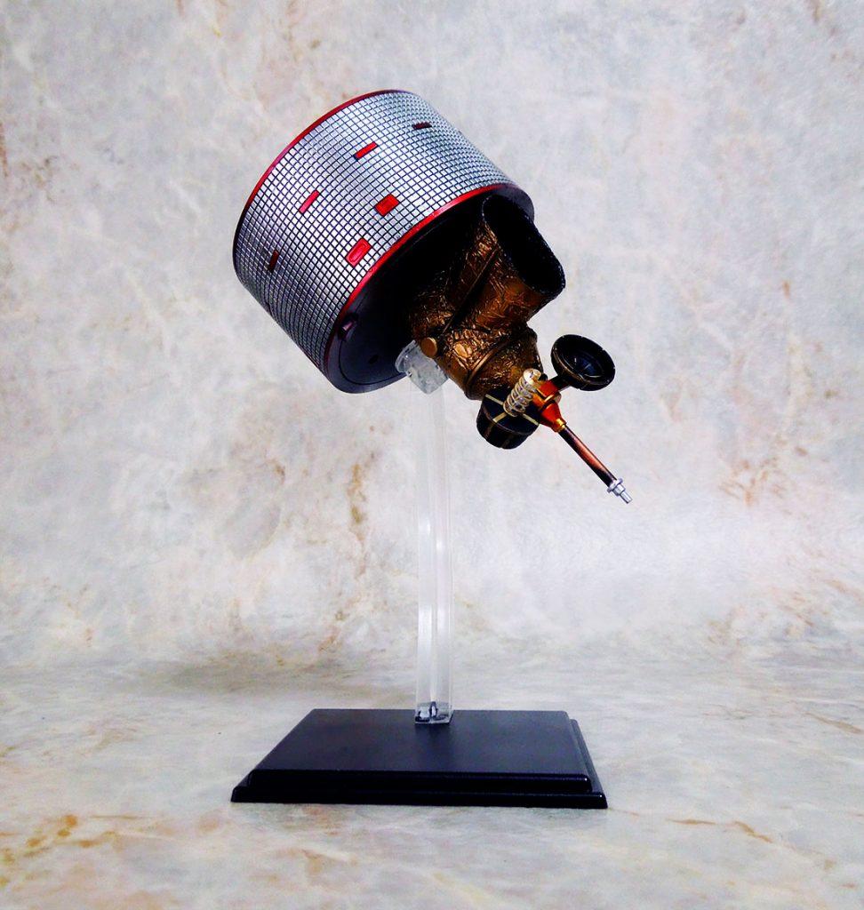 アオシマ 1/32気象衛星ひまわり 完成報告。