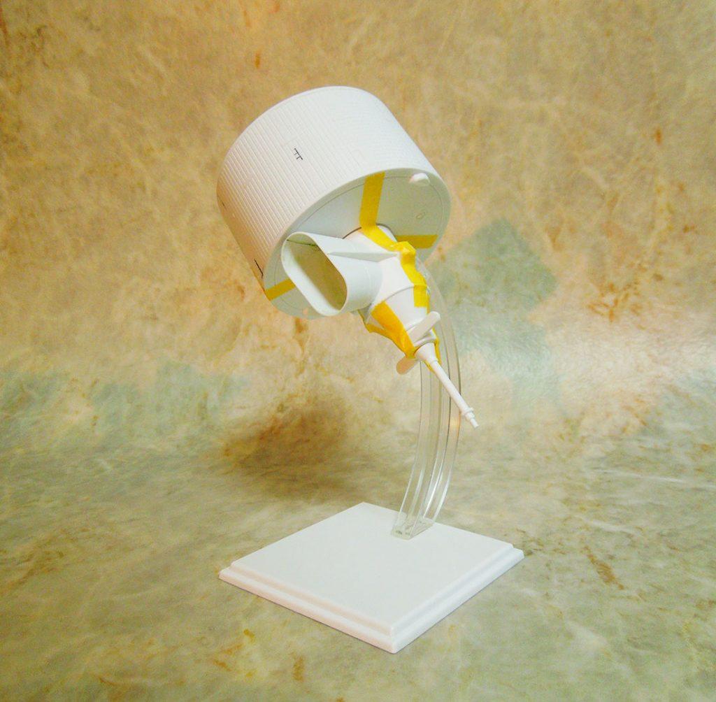 アオシマ 1/32気象衛星ひまわり進捗報告。